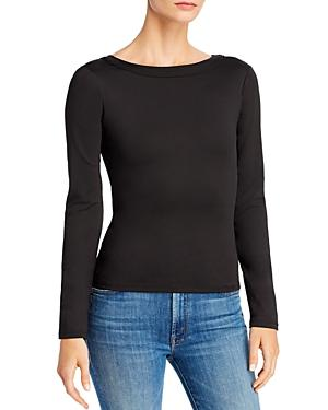 Rebecca Minkoff Lara Open-back Tie-detail Top