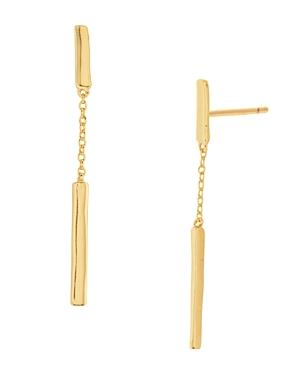 Gorjana Taner Bar & Chain Linear Drop Earrings