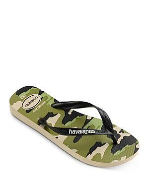 Havaianas Men's Top Camo Print Flip-flops