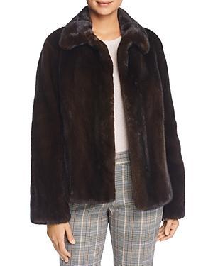 Maximilian Furs X Zac Posen Short Mink Fur Coat - 100% Exclusive