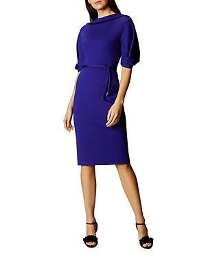 Karen Millen Belted Sheath Dress