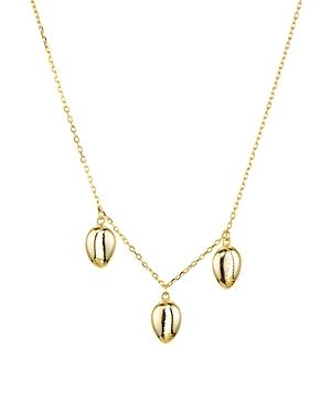 Argento Vivo Seychelle Dangle Necklace In 18k Gold-plated Sterling Silver, 16