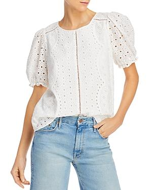 Parker Holland Eyelet Blouse - 100% Exclusive