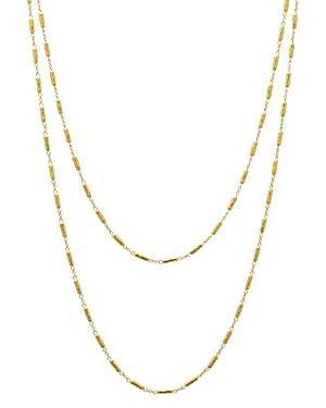 Gurhan 24k/22k/18k Yellow Gold Vertigo Bead Statement Necklace, 36