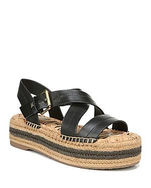Sam Edelman Women's Aisling Strappy Espadrille Platform Sandals