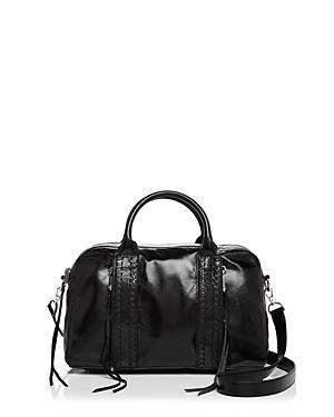 Rebecca Minkoff Vanity Zip Leather Satchel