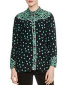Maje Cimani Floral-print Shirt