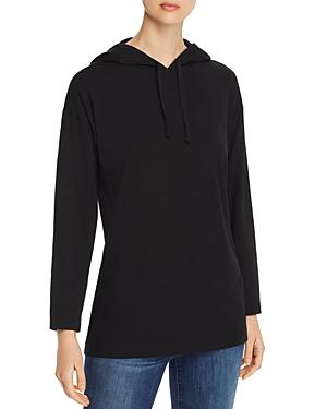 Eileen Fisher Petites Hooded Sweater