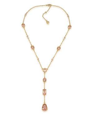 Carolee Embellished Lariat Necklace, 16