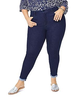 Nydj Plus Ami Ankle Skinny Jeans In Rinse