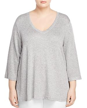 Nally & Millie Plus Lace Back Tunic - 100% Exclusive