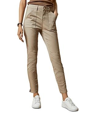 Ted Baker Combat Skinny Jeans In Cream
