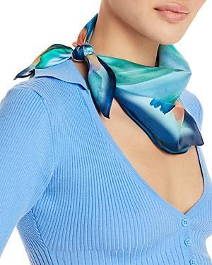 Echo Washed Stripe Silk Scarf