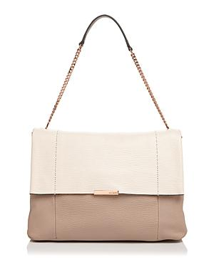 Ted Baker Phellia Color Block Leather Shoulder Bag