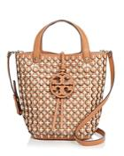 Tory Burch Leather Chainmail Tote