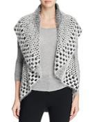 Sioni Block Eyelash Knit Vest