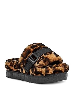 Ugg Women's Fluffita Slip On Sandals