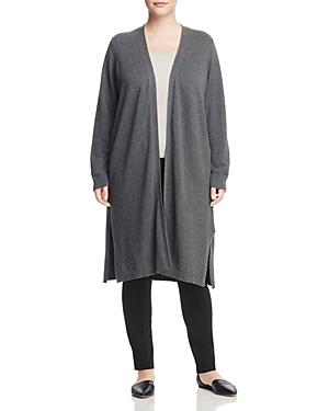 Vince Camuto Plus Textured Duster Cardigan