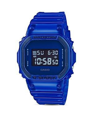 G-shock Blu Skeleton Digi Watch, 42.8mm X 42.8mm