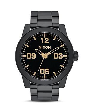 Nixon The Corporal Black Watch, 48mm
