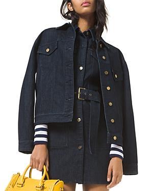 Michael Michael Kors Denim Boyfriend Jacket