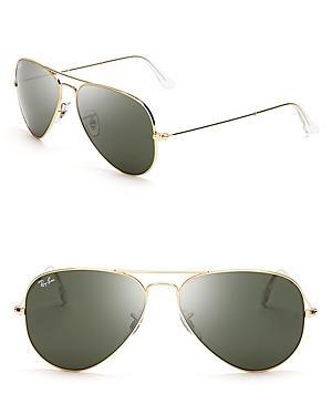 Ray-ban Aviator Sunglasses, 55mm