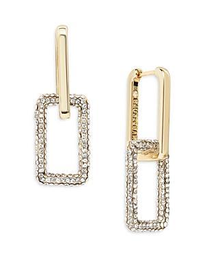 Baublebar Octo Crystal Link Drop Earrings