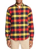 Tommy Hilfiger Buffalo Check Flannel Button-down Shirt