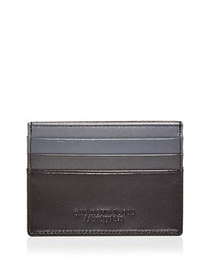 The Men's Store At Bloomingdale's Ombre Color Block Leather Card Case - 100% Exclusive