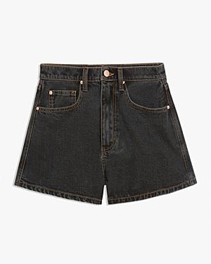 Weworewhat High Rise Jean Shorts In Bahbah