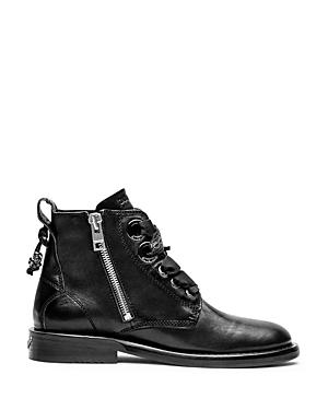 Zadig & Voltaire Laureen Roma Lace Up Booties