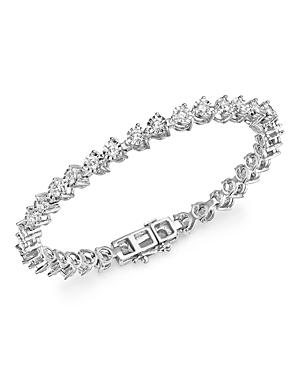 Diamond Tennis Bracelet In 14k White Gold, 3.0 Ct. T.w.