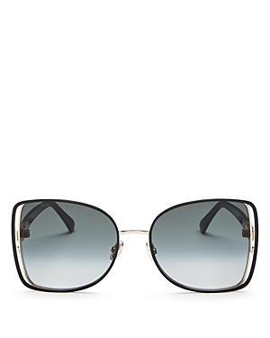 Jimmy Choo Women's Frieda Square Sunglasses, 57mm