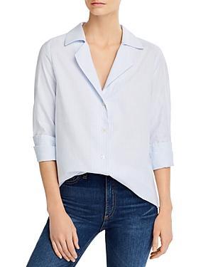 Paige Elora Cotton Striped Shirt - 100% Exclusive