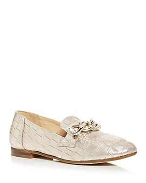 Donald Pliner Women's Balton Croc Embossed Smoking Slippers