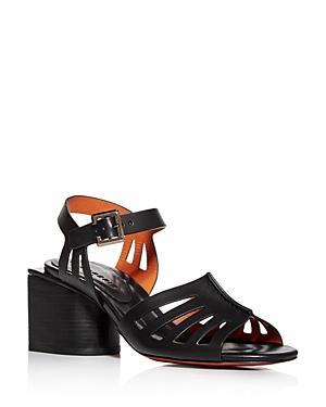 Clergerie Women's Eline Block-heel Sandals