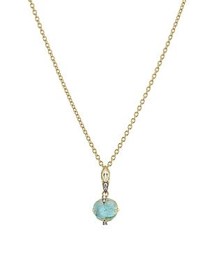 Nadri Agean Small Pendant Necklace In 18k Gold-plated Sterling Silver, 16