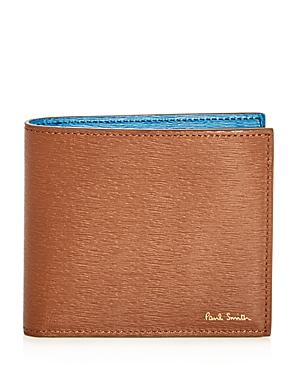 Paul Smith Color-block Leather Bi-fold Wallet