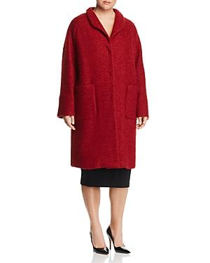 Marina Rinaldi Tropea Boucle Cocoon Coat