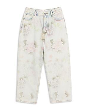 Sandro Flowie Floral Jeans