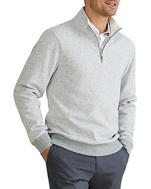 Zachary Prell Dexter Fleece Quarter-zip Sweater