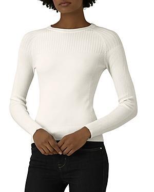 Karen Millen Ribbed-detail Sweater