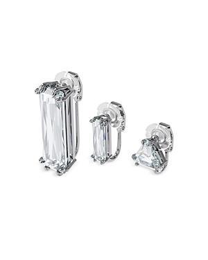 Swarovski Mesmera Mismatched Earrings, Set Of 3