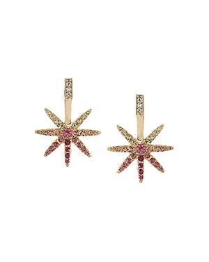 Abs By Allen Schwartz Ombre Starburst Drop Earrings
