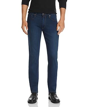 Paige Federal Straight Slim Jeans In Pace