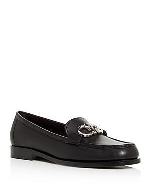 Salvatore Ferragamo Women's Reversible Gancini Leather Loafers