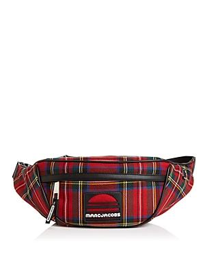 Marc Jacobs Sport Plaid Wool Fanny Pack