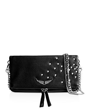 Zadig & Voltaire Rock Heart-studded Crossbody