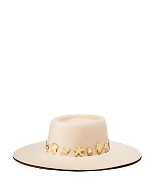 Lack Of Color Seaside Wool Boater Hat