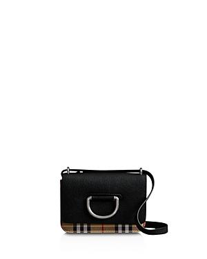 Burberry D-ring Leather Crossbody